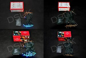 Battery Operated Fairy Lights With Timer For Indoor & Outdoor String Lights XMAS