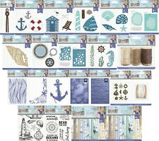 Crafters Companion - Nautical - SARA SIGNATURE COLLECTION - Cardmaking