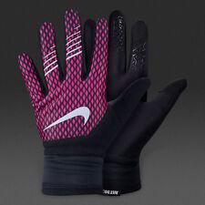 NWT Nike Women's therma fit Elite 2.0 Running Gloves Pink Black Size M Medium 25