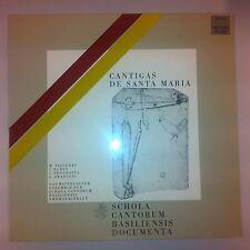 LP - Cantigas de Santa Maria - Schola Cantorum Basiliensis Documenta