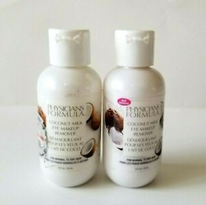 2 x Physician's Formula Coconut Milk Eye Makeup Remover For Normal to Dry Skin!!
