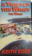 A Twist Of The Wrist-The Video-Vhs Keith Code-Tested-Rare Vintage-Ships N 24 Hrs
