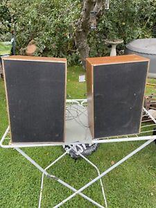 1 pair of Vintage Hi Fi Speakers ITT KS 665