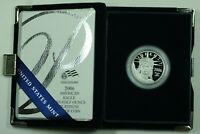 2006-W American Eagle Platinum Proof 1/2 Oz .9995 Fine Coin in Box w/ COA
