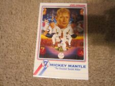 Sports Impressions Mickey Mantle Plaque