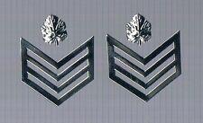 ISRAEL  POLICE /BORDER POLICE RAV SAMAL ( SERGEANT MAJOR ) PAIR OF COLLAR RANKS