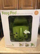 Frog Pod Bath Toy Scoop, Drain & Storage by Boon.