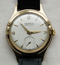 MAPPIN – Precision - 9K Solid Gold – 1950's – sub dial - Mens Wrist Watch