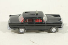 379 Typ 1A Wiking Taxi MERCEDES 220 Heckflosse 1970 - 1971 / schwarz