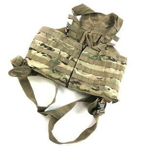 Multicam Aircrew Survival Vest USGI Army MOLLE Load Bearing Flight DEFECT