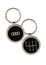 Genuine Audi Collection Gear Shift Keychain/ring - PERFECT GIFT