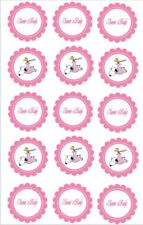 15 Pre-Cut Edible Icing Snoopy Baby Shower/New Baby Icing Cupcake Toppers 2""
