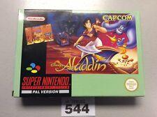 Super Nintendo Aladdin Pal Version