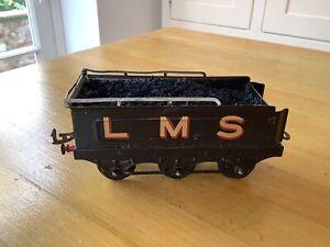 Hornby O Gauge NO2 L.M.S Clockwork Locomotive 6 Wheel Tender