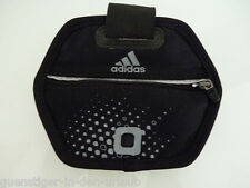 ADIDAS Run Arm Pocket Tasche für MP3 Joggen Musik Sport Tasche schwarz NEU