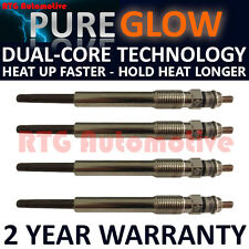 4x Diesel Heater Glow Plugs For Citroen Fiat Lancia Peugeot Suzuki 2.0 HDI