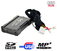 Boitier USB SD AUX MP3 Audi A3 A4 S4 TT R8 RNS-E Chorus 3 BNS Concert 3
