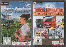 Truck Simulateur Complete Edition Camion + AGRICOLE SIMULATOR 2012 Collection Jeux PC
