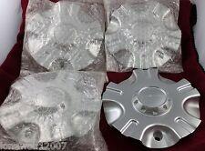 Limited Wheels Silver Custom Wheel Center Caps Set of 4 # TJ05093