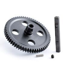 RC 0015 Black Metal Center Reduction Gear 62T Fit WLtoys 1/12 12428 12423