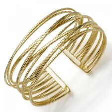 Bangle Bracelet Bracelet Made Of 585 Yellow Gold 0 31/32in Wide,Grooved,Ladies