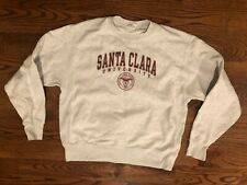 Santa Clara University Champion Reverse Weave Gray Sweatshirt Men's Large