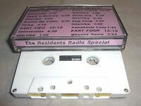Rare THE RESIDENTS Radio Special 1977 CASSETTE TAPE ONLY limited run album NM/NM