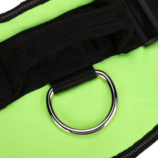 Pet Dog Harness Vest Collar Chest Strap Rushed Green(XL )