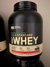 Optimum Nutrition Gold Standard 100% Whey Protein Powder, Strawberry, 4.8 Lb