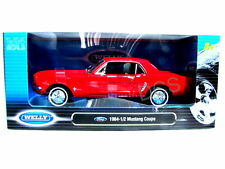 Welly 1964 1/2 Ford Coupe Red 1/24 Diecast Car
