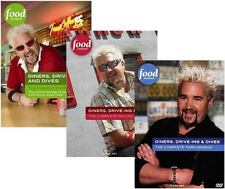 DINERS, DRIVE-INS AND DIVES COMPLETE SEASONS 1-2-3-4 DVD SETS TV SERIES - NEW