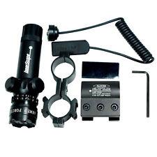 20mm Hunting Red Laser Dot Sight Scope QD Rail Picatinny Mount Rifle Gun Light