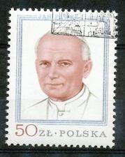 Polen 2632 gestempeld (6) paus Johannes Paulus II