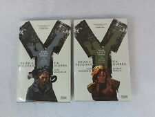 Brian Vaughan & Pia Guerra Y THE LAST MAN 2 VOL DC Comics  2009 5th Print HC/DJ