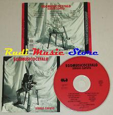 CD SERGIO CAPUTO Egomusicocefalo 1993 germany CGD 4509-92680-2 lp mc dvd vhs