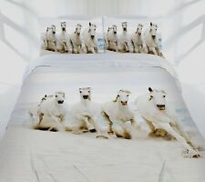 Stunning!!! Beach Canter Horse Pony Girls Boys King Size Quilt Doona Cover Set