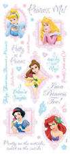 Disney PRINCESS with Glitter Scrapbook Stickers