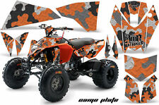 ATV Decal Graphics Kit Quad Wrap For KTM 450 450XC 525 525XC 2008-2013 CAMOPLATE