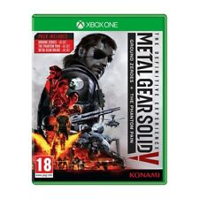 Metal Gear Solid V The Definitive Experience Xbox One Bonus Content DLC