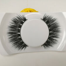 Charming Black 100% Real Mink Long Natural Thick Eye Lashes False Eyelashes-014
