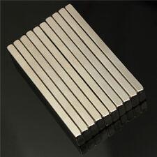 5pcs N50 Super Strong Block Cuboid Magnets 60x10x4 mm Rare Earth Neodymium Magne