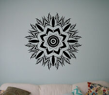 Mandala Flower Wall Vinyl Decal India Henna Vinyl Sticker Abstract Home Decor 25