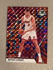 Meyers Leonard 2019-20 Mosaic Reactive BLUE Prizm! HEAT