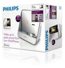 Philips Radio Clock Radio FM Reloj Espejo Docking AJ5300D Like AJ3231 iPhone iOS