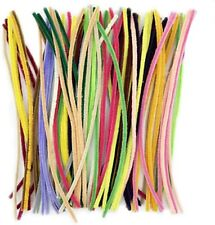 Pipe Cleaners 100 Pcs 20 Colors Chenille Stems for DIY Crafts Decorations