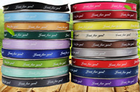 100 yard custom printed ribbon, personalized ribbon with logo or font style
