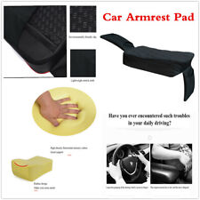 PU Surface Hollow Cotton Heighten Car Armrest Cushion Pad Interior Accessories