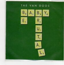 (FN253) The Van Doos, Baby Be Brutal - DJ CD