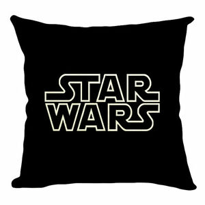 STAR WARS Logo Title Cushion Cover Pillow Case Throw