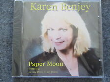 Karen Benjey feat. Kenny Drew Jr. - Paper Moon - CD Neu & OVP NEW & Sealed